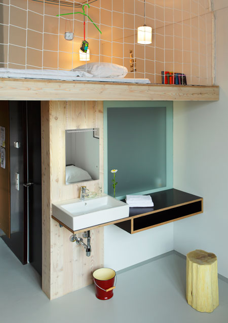 the michelberger hotel. Black Bedroom Furniture Sets. Home Design Ideas