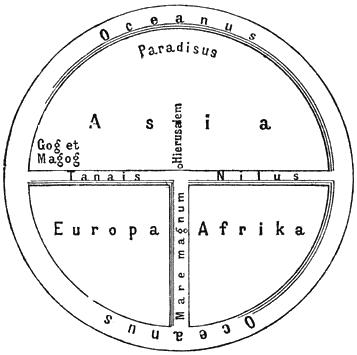 TO図 中世ヨーロッパの世界地図 ...